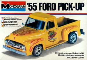 1955 Ford Custom Pickup (1/24) (fs) c. 1978 First Issue