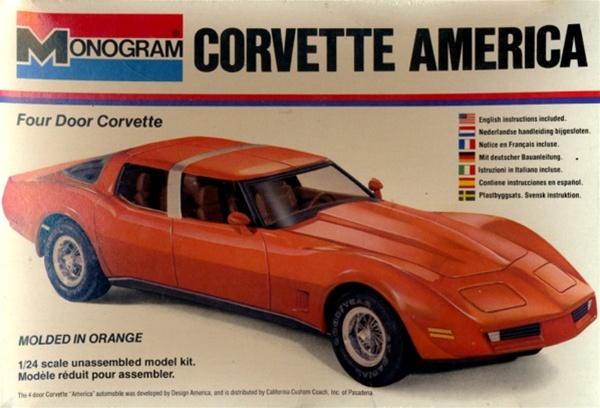 1970 Corvette America 4 Door Corvette 1 24 Fs C 1980
