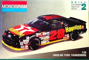 1992 Ford Thunderbird 'Havoline' # 28 Davey Allison (1/24) (fs)