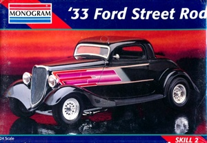 1933 Ford 3-Window Coupe Street Rod (1/25) (fs)