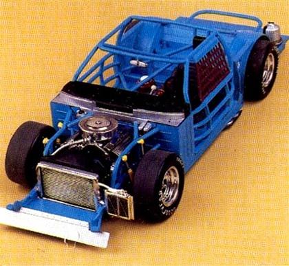Slot car racing kit