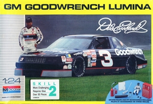 1990 Chevy Lumina  'Goodwrench' #3 Dale Earnhardt with Driver and Pit Accessories (1/24) (fs)