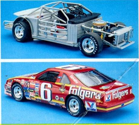 1990 Ford Thunderbird Folgers 6 Mark Martin 1 24 Fs