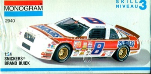 1990 Buick Regal 'Snickers'  #8 Rick WIlson/Bobby Hillin (1/24) (fs)