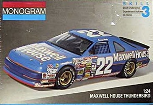 "1991 Maxwell House Tbird #22 Sterling Marlin ""Sterling's early days"" (fs)"