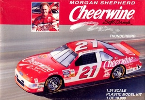 1994 Ford Thunderbird 'Cheerwine' # 21 Morgan Shepherd (1/24) (fs)