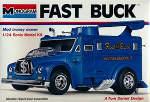 Fast Buck Armored Car Show truck (fs)