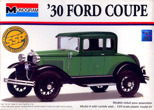 1930 Ford Coupe 1 24 Fs