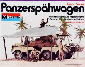 232 Panzerspahwagen Model Kit Monogram Revell 1//32 Sd.Kfz