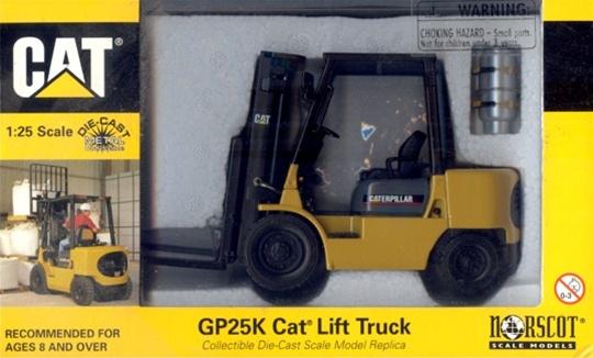 Caterpillar Gp25k Fork Lift Truck With Propane Tank 1 25