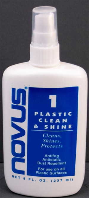 Novus Plastic Clean & Shine Protector - Novus 1<br> (2 oz Bottle)