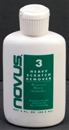 Novus Heavy Scratch Remover Cleaner - Novus 3 <br> (2 oz Bottle)