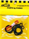 Detail Set # 2: Radiator Hose, Orange Heater Hose, Black Battery Cable (1/24 or 1/25)