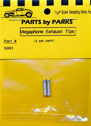 Megaphone Exhaust Tip (set of 2) (1/25 & 1/24)