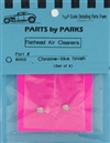 Flathead Air Cleaners Chrome Finish (Set of 2) (1/25 or 1/24)