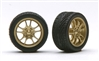 M5's Bronze Rims with Tires (Set of 4) (1/25)