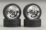 "Holli's (Halibrands) with Tires and Knock-Offs 23"" (Set of 4) (1/25)"