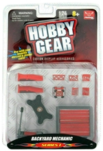 "Hobby Gear ""Backyard Mechanic"" Garage Accessories Series 1 (1/24) (fs)"