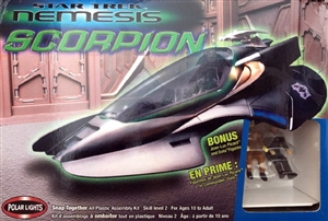 Star Trek Nemesis Scorpion with Figures (fs)