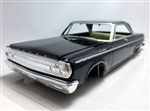 1965 Dodge Coronet Hardtop Pre-painted Black (1/25) (fs)