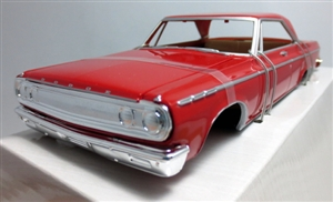 1965 Dodge Coronet Hardtop Pre-painted Red (1/25) (fs)