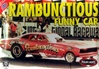 1970 Dodge Charger - Gene Snow's Rambunctious Funny Car (1/25) (fs)