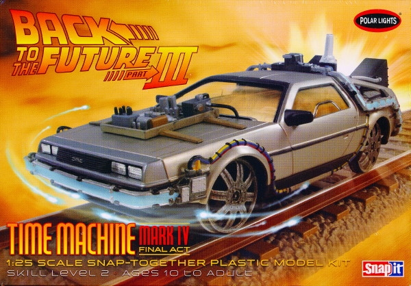 Delorean 'Back to the Future III' Time Machine Final Act ...