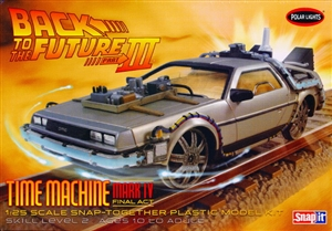 Delorean 'Back to the Future III' Time Machine Final Act Mark IV Snap Kit (1/25) (fs)