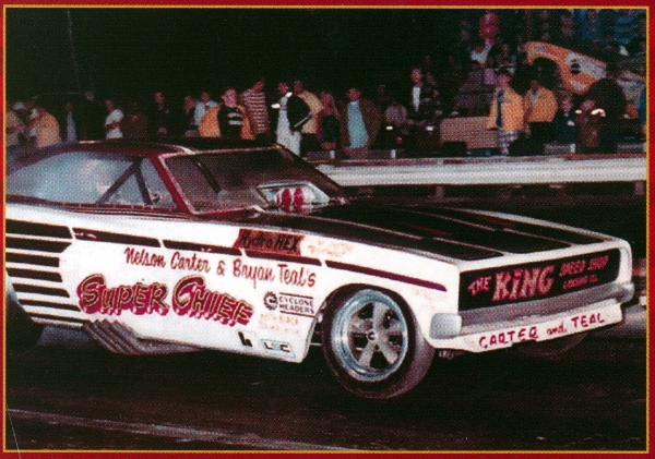 Nelson Carter S 1970 Super Chief Charger Funny Car 1 25