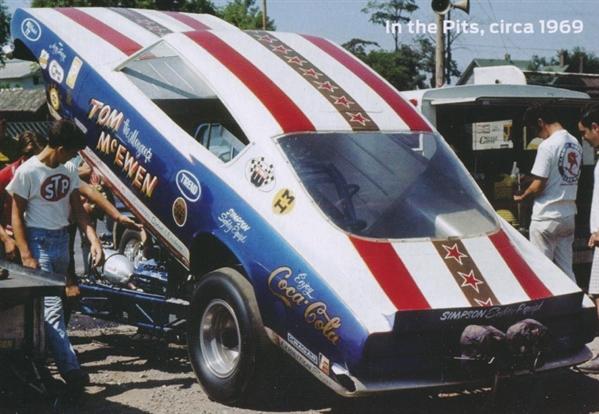 "Car Paint Kit >> Tom ""Mongoose"" McEwen 1969 Barracuda Funny Car (1/25) (fs)"