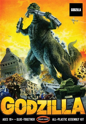 "Godzilla (1/144) (fs)<br><span style=""color: rgb(255, 0, 0);"">Just Arrived</span>"