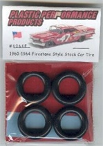 1960-64 Nascar Firestone Tires (set of 4)