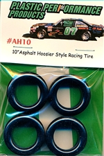 10'' Asphalt Hoosier Style Racing Tires (set of 4)