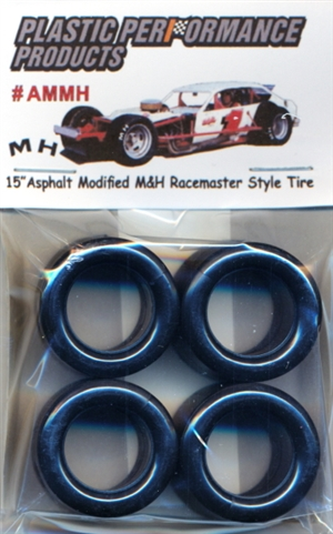 "15"" Asphalt Modified MH Racemaster Style Tires (set of 4)"