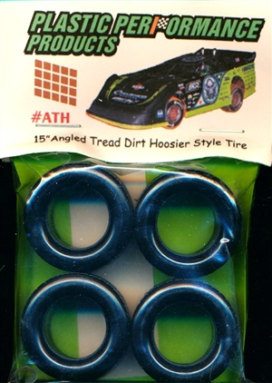 "15"" Angled Tread Dirt Hoosier Style Tires (set of 4)"