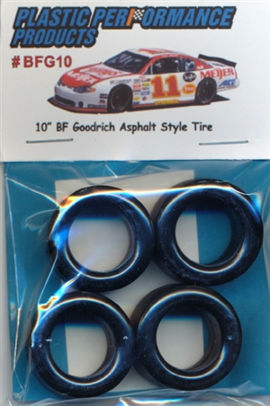 "10"" BF Goodrich Asphalt Style Tires (set of 4)"