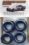 1960's and 70's Gold Ring Firestone Modified Asphalt Tires (set of 4)
