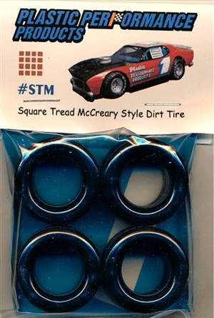 Square Tread McCreary Style Dirt Tire (set of 4)