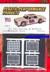 Vintage Nascar Window Net Kit (4 Nets) 1/25