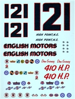 1964 Ford Dan Gurney Marvin Panch #121 English Motors (1/25)