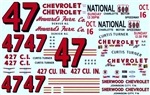 1966 Chevy #47 Curtis Turner (1/25)