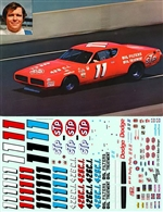 1971-72 Buddy Baker Charger #11