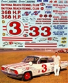 Junior Johnson Daytona Kennel Club #3 1961 Pontiac (1/25)
