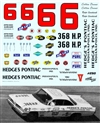 "1961 Ralph Earnhardt Cotton Owens ""Hedges Pontiac"" #6 (1/25)"