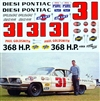 1961 Paul Goldsmith Diesi Pontiac #31 (1/25)