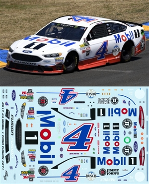 Kevin Harvick Mobil 1 #4 2017 Ford Fusion (1/25)