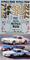 "Benny Parsons Kings Row 1976 Monte Carlo #72 Decal (1/25)<br><span style=""color: rgb(255, 0, 0);"">Just Arrived</span>"