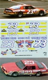 "1986 #23 ""Hawaiian Punch"" Pontiac 2 + 2  Decals (1/24)"