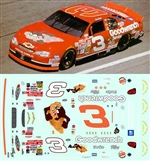 #3 Taz Dale Earnhardt 2000 Decal (1/25)