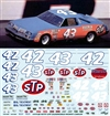 Richard Petty STP 1979-1980 #43 (Works on Salvino Gray Ghost Olds) (1/25)